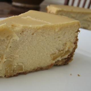 Brown Sugar-Apple Cheesecake