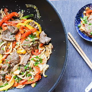 Wok Fried Beef Noodles Recipe