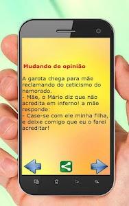 Piadas Curtas Divertidas screenshot 8
