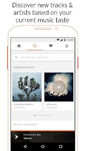 SoundCloud apk screenshot