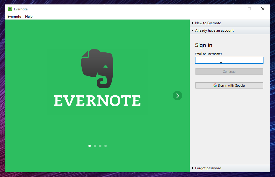 Get Evernote Basic for free or upgrade to Plus or Premium