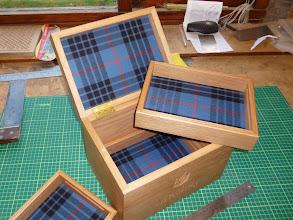 Photo: Oak Box with Trays