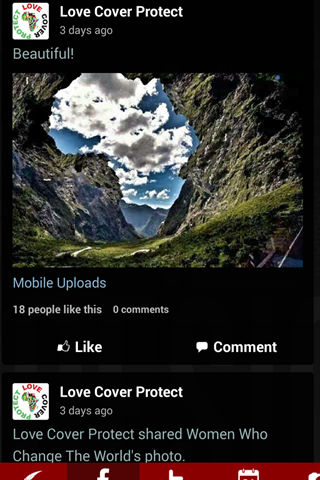 Love Cover Protect