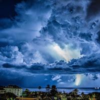 Blu tempesta di