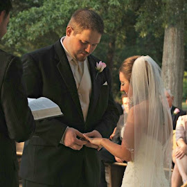 With this ring... by Brenda Shoemake - Wedding Ceremony