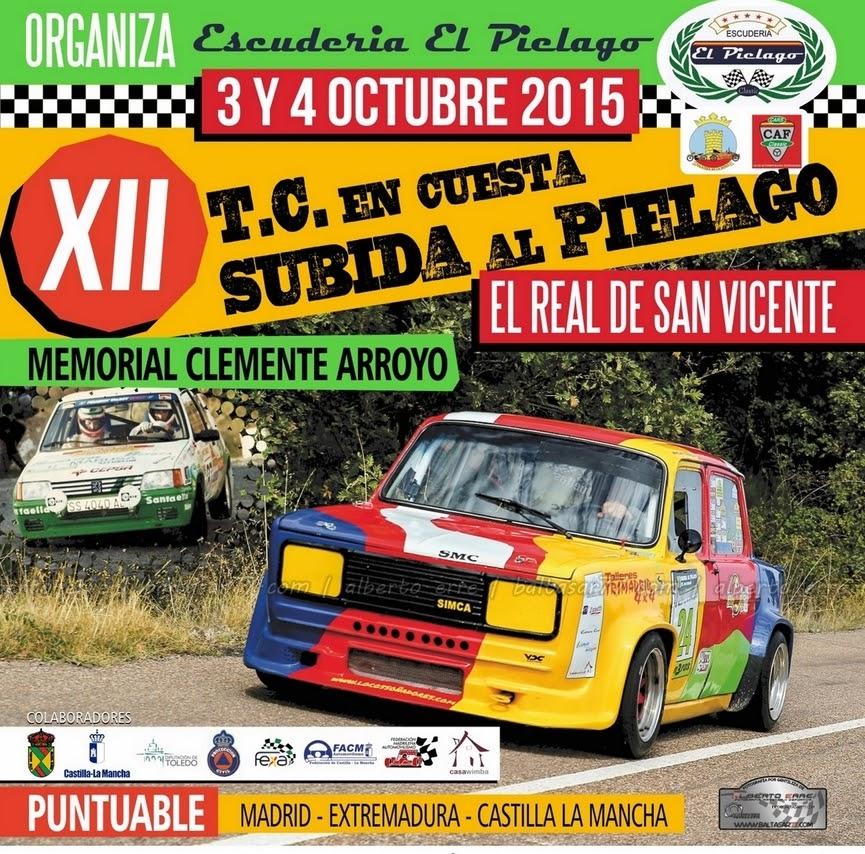 XII rally subida al pielago 2015