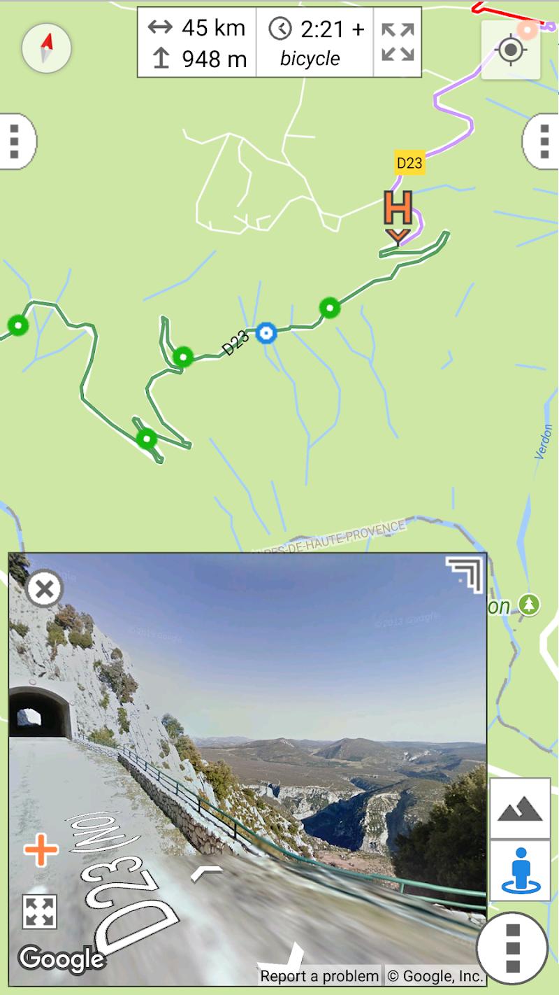 myRouteMap Screenshot 7
