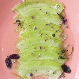 Melon Carpaccio with Lime Recipe