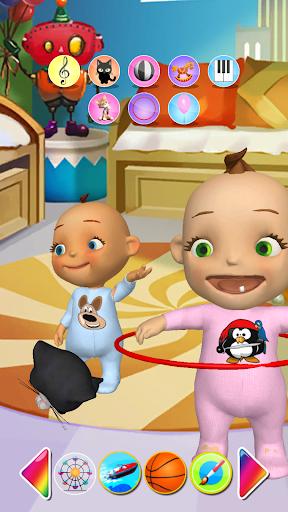 Talking Baby Twins Newborn Fun  screenshots 5