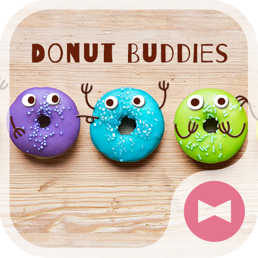 Wallpaper Donut Buddies Theme Icon