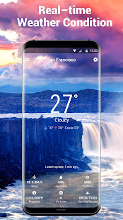 Weather Forecast Widget with Battery and Clock APK image thumbnail 3