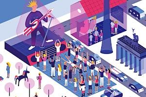 Wo sich Berlins Wirtschaft und Kultur digital entfalten