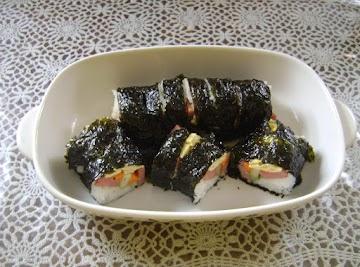 108  Spam Sushi Rolls Recipe