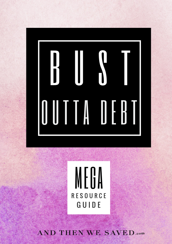 Bust Outta Debt Mega Resource Guide