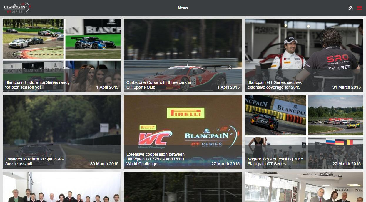Blancpain GT Series- screenshot