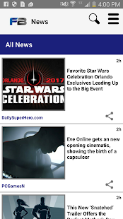 FanBoy: Geek News- screenshot thumbnail