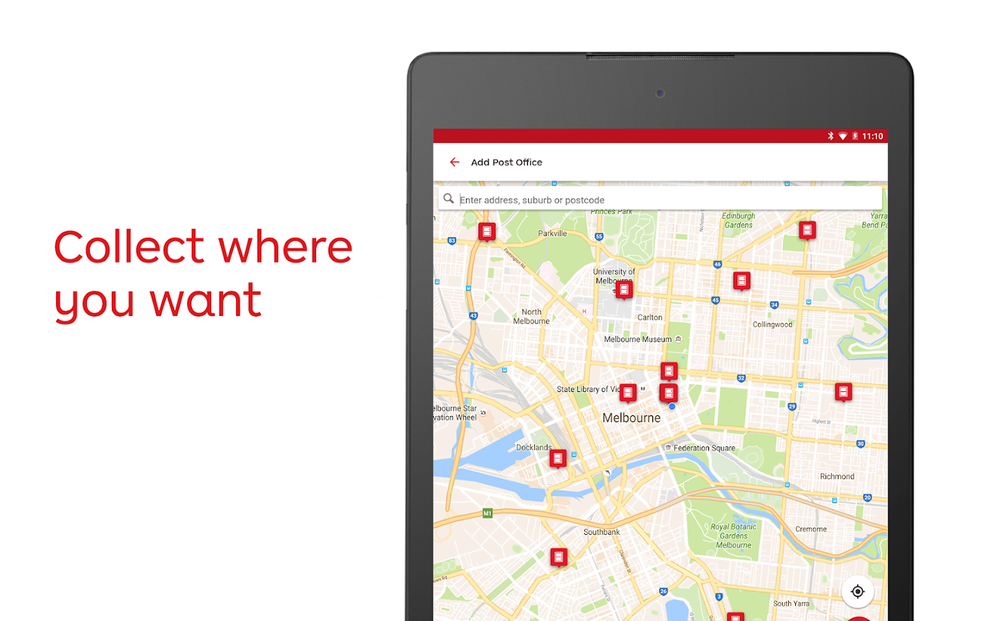 Australia Post- screenshot