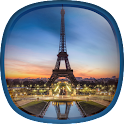Paris by Night Live Wallpaper icon