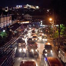 Photo: Trafic nocturne de Baguio