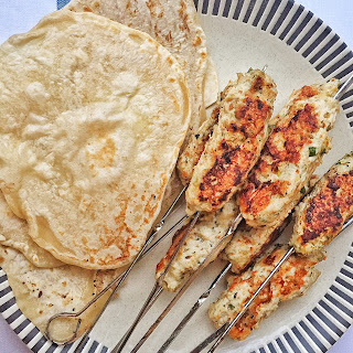 Gently Spiced Ground Chicken Kebabs