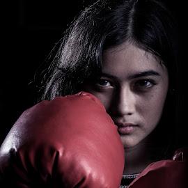 by Eko Probo D Warpani - Sports & Fitness Boxing ( girls, strobist, boxing, beauty, cute,  )