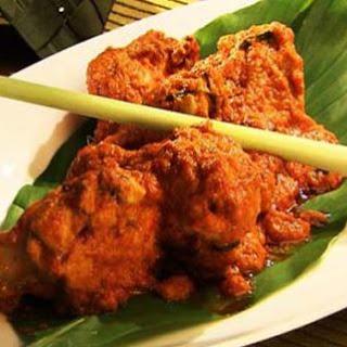 Chicken with Coconut Milk.