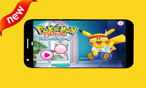 pikachu doctor and dress up 1.0 screenshots 1