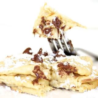 Skinny Cookie Dough Pancakes