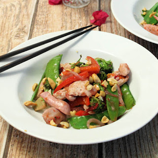 Chicken Stir-Fry with Plum Sauce