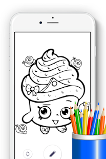 How to Draw Shopkins for Fans - náhled