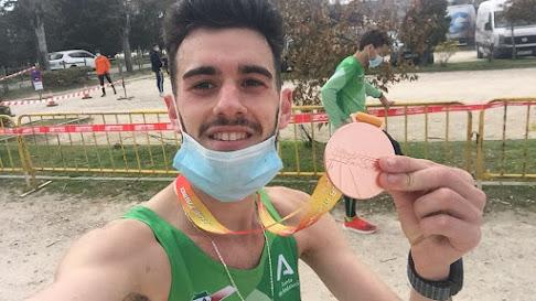 Diego Clemente, bronce nacional en campo a través.