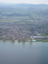 Photo: A view of the villages on the Lake Constance when approaching the St. Gallen airport http://www.swiss-flight.net