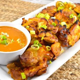Lazy Satay Chicken.