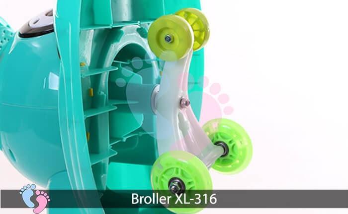 Xe lắc trẻ em Broller XL 316 7