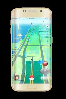 Joystick on Poke Go Prank screenshot 1