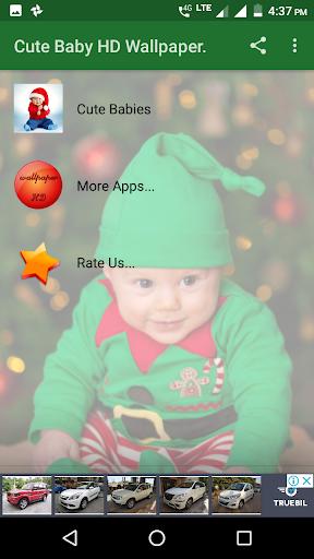 Cute Baby HD Wallpaper screenshots 1