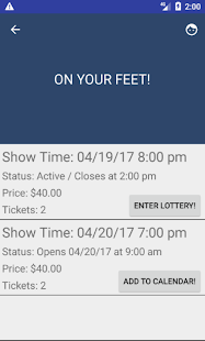 Broadway Lottery- screenshot thumbnail