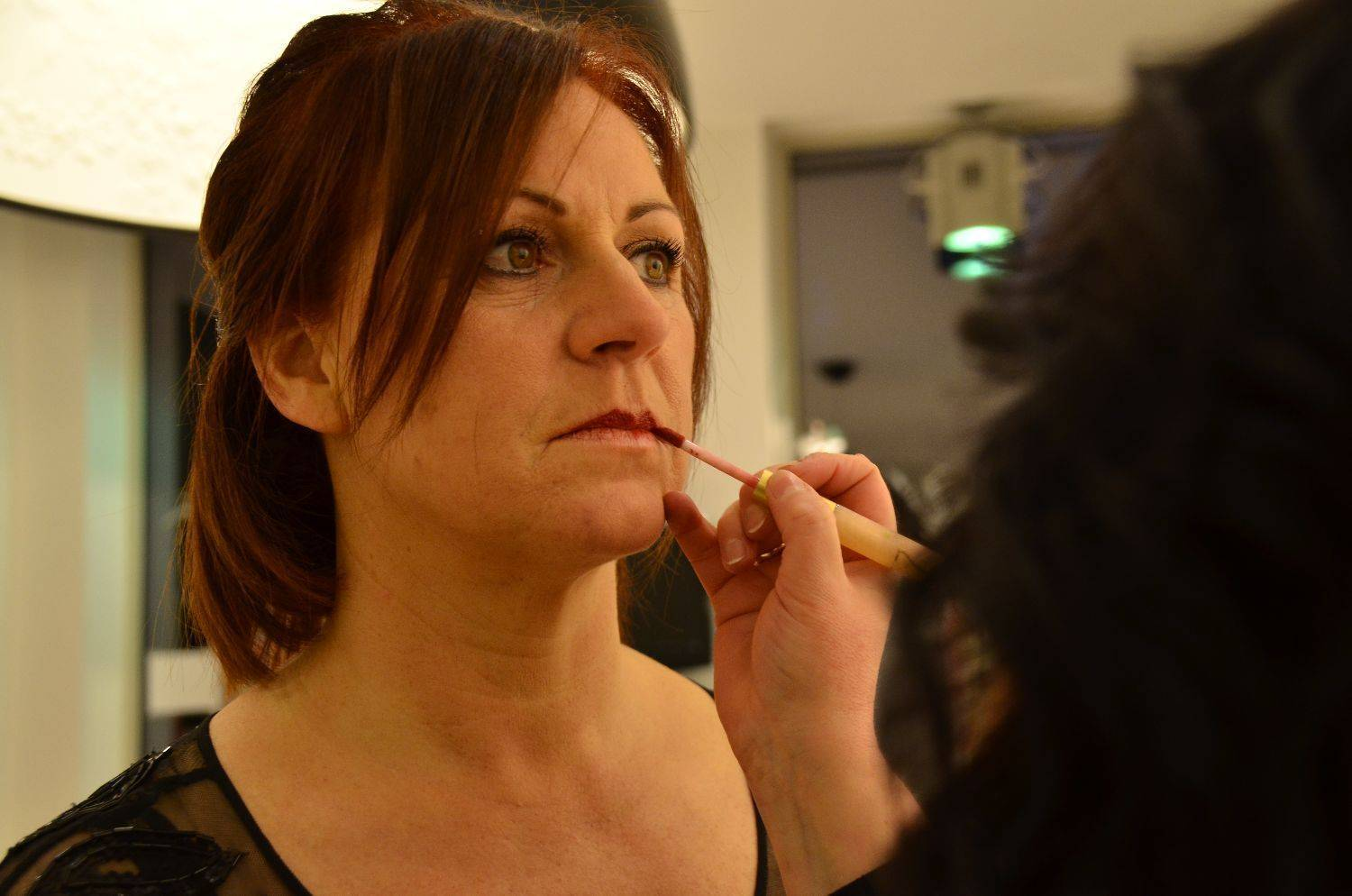 Make-up artist Sybille