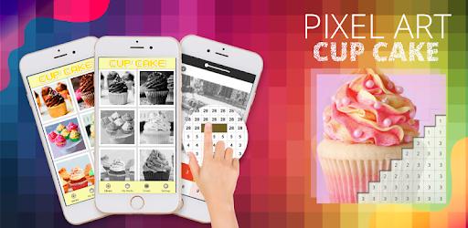 Cup Cake Pixel Coloring By Number Google Play Də Tətbiqlər