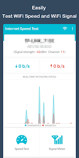 App WiFi Speed Test - WiFi Signal Strength Meter APK for Windows Phone