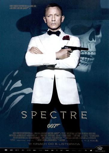 Przód ulotki filmu 'Spectre'