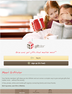 Giftster - Wish List Registry- screenshot thumbnail