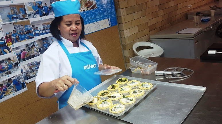 PILMICO RESEARCH AND TRAINING BAKERY RESIDENT CHEF CYNTHIA DURIAN.