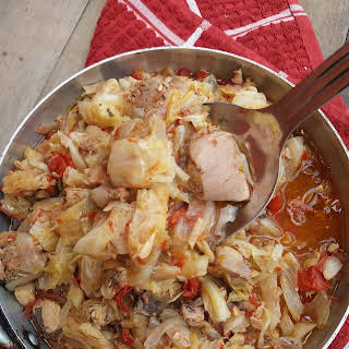 Tuna Cabbage Stew.