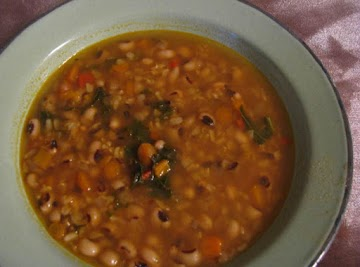 Black Eyed Pea And Brown Rice Soup Recipe
