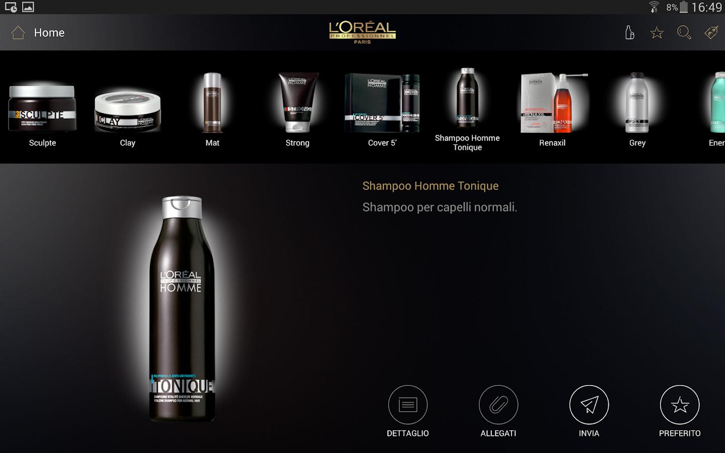 L'Oréal Professionnel Catalogo- screenshot