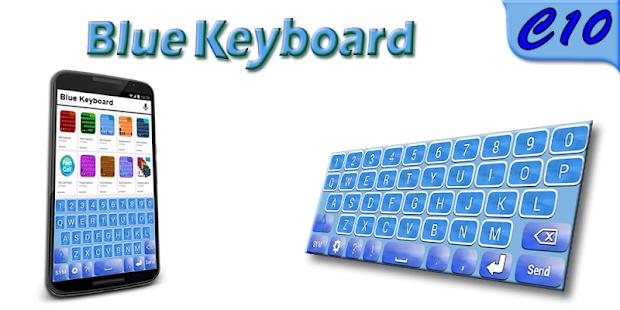 Blue Keyboard - náhled