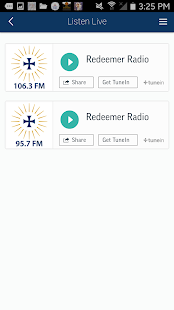 Redeemer Radio- screenshot thumbnail