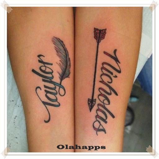 Popular Name Tattoo Design