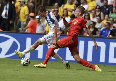 "Alderweireld: ""Il n'y avait pas penalty"""
